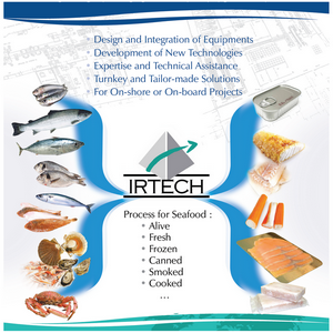 v irtech process for seafood v